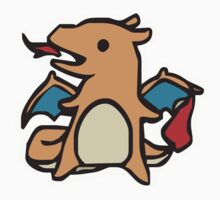 charizard fire Kids Clothes