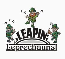 Leaping Leprechauns Kids Tee