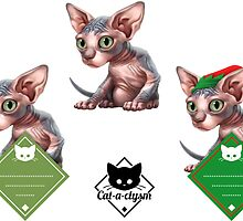 Cataclysm - Sphinx -  Sticker Set by Iker Paz Studio