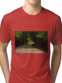 Green Tunnel Drive Tri-blend T-Shirt