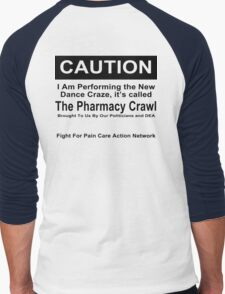 Caution Protest T-shirt Men's Baseball ¾ T-Shirt