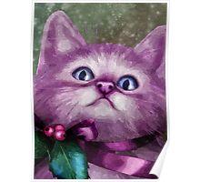 Jingle The Christmas Cat Poster