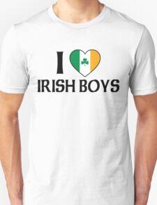 I Love Irish Boys Unisex T-Shirt