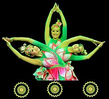 Lotus Dancers by pseth