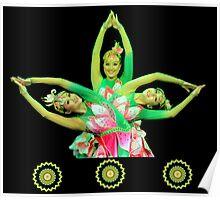 Lotus Dancers Poster