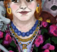 Madame Lovina's Haunted Talking Board Sticker