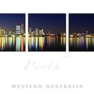 Perth City Lights by desertsea