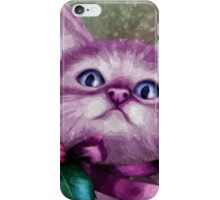 Jingle The Christmas Cat iPhone Case/Skin