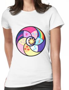 The elements of harmony Womens Fitted T-Shirt