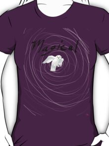 magical white owl  T-Shirt