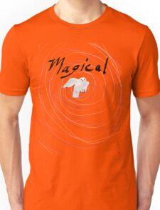 magical white owl  Unisex T-Shirt