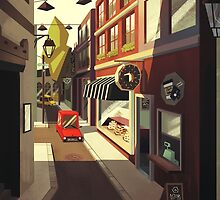 Donut street by scarriebarrie
