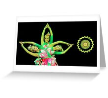 Lotus Dancers Greeting Card