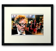 Mr Burton Framed Print
