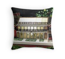 The Gingerbread Mansion Atrium Longwood Gardens, Pa. USA  Throw Pillow