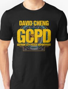 Custom Gotham Police (David Cheng) T-Shirt