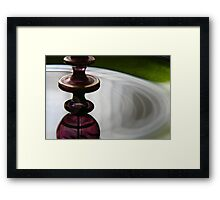 Studies in Glass.....exotic Framed Print