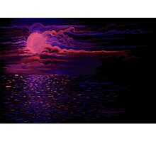 Night Sea Photographic Print