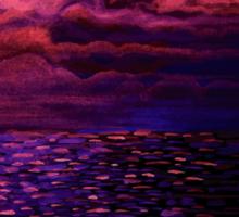 Night Sea Sticker