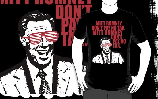 Protect Yer Stacks - Mitt Romney Don't Pay No Tax by micusficus