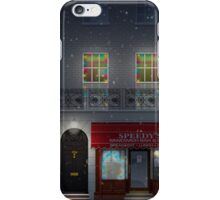 Sherlock Speedy's Cafe christmas iPhone Case/Skin