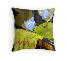 Down on the street where the faces shine..... Throw Pillow