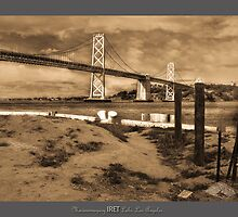 BAY BRIDGE 1945, SAN FRANCISCO by maventalk