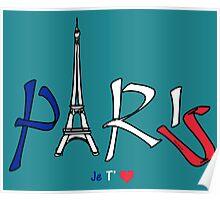 PARIS I Love you! (version 2) Poster