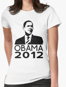 Obama 2012 Womens Fitted T-Shirt