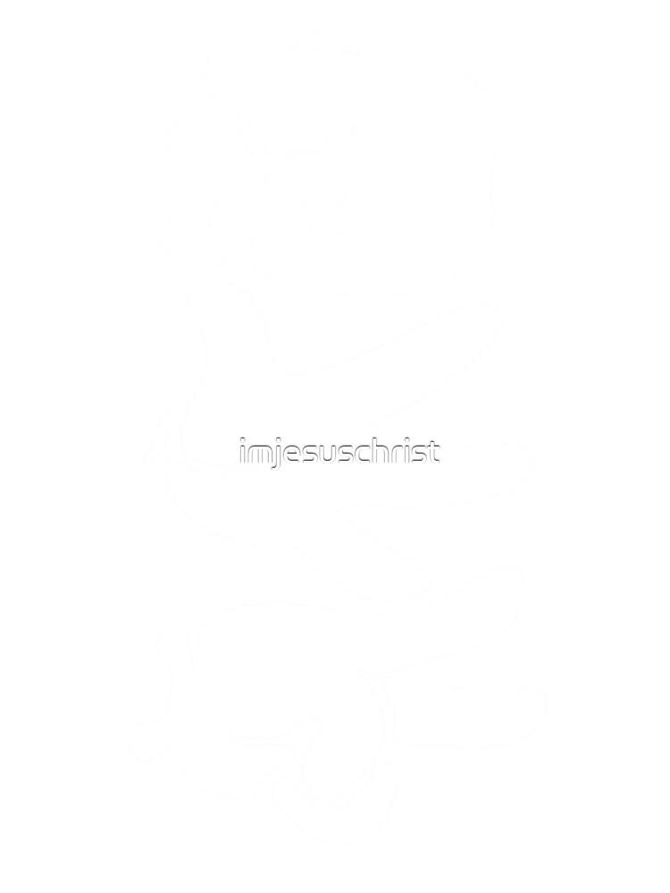 Rock Paper Scissors (White) by imjesuschrist