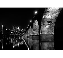 down by the river Photographic Print