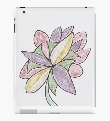 Carnivaled Flowers (a Bouquet of Pastel Colours) iPad Case/Skin