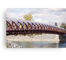 The Peace Bridge Canvas Print