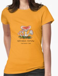 Aphrodite's perfume (with smiley face) Womens Fitted T-Shirt