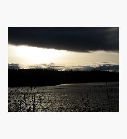 sun set Photographic Print
