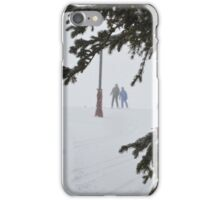 Blizzard in the Woods iPhone Case/Skin