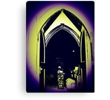 Darkness Within Canvas Print