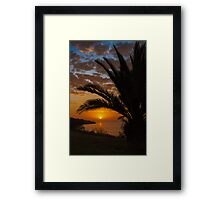 Sunset at Clifton Springs Framed Print