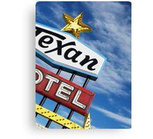 Texan 2 Canvas Print