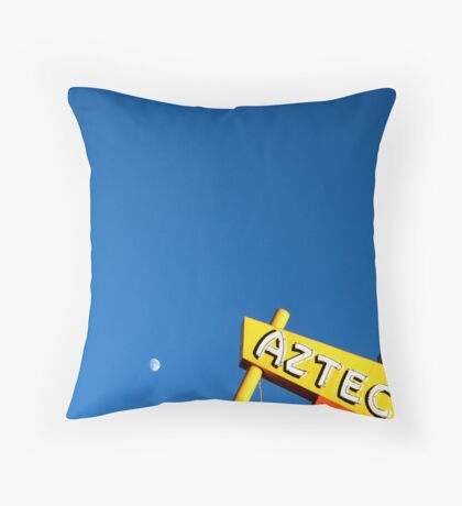 Aztec Motel Throw Pillow