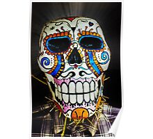 Haunted Skull Poster