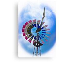 Rural Windmill Canvas Print