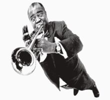 Louis Armstrong by CHROMEBOOMBOX