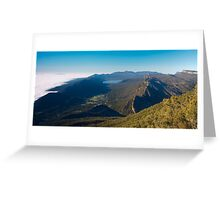 View from Boroka Lookout Greeting Card