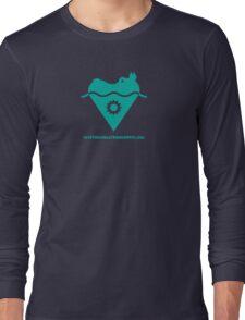AAHCS Hippo Heart Logo  Long Sleeve T-Shirt