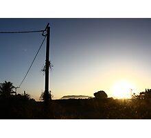 Gunbalanya Sun Rise, Arnhem Land Photographic Print