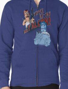 Yippee Ki-Yay, Mr Falcon! Zipped Hoodie