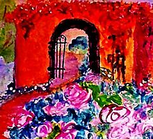 Archway too?  watercolor by Anna  Lewis