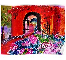 Archway too?  watercolor Poster