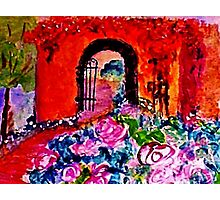 Archway too?  watercolor Photographic Print